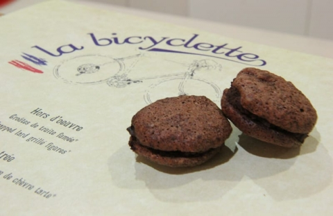 La Bicyclette – logo and menu design