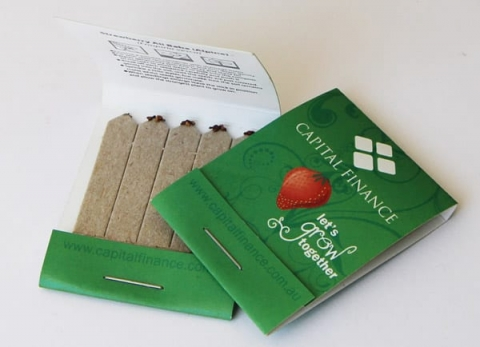 Seed stick packaging