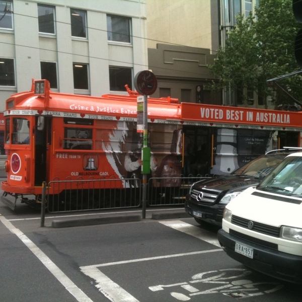 National Trust tram wrap